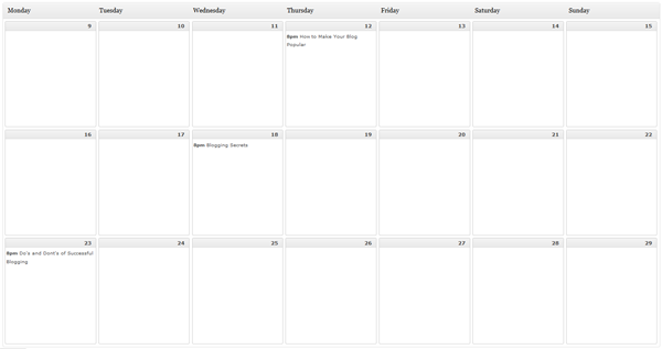 Why You Should Use an Editorial Calendar for Your Blog